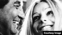 Octavio Paz y Marie-José Tramini, su esposa, en 1971