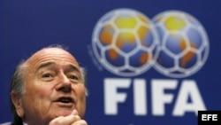 El presidente de la FIFA Joseph Sepp Blatter. EFE/STEFFEN SCHMIDT