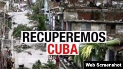 Concurso Recuperemos Cuba.