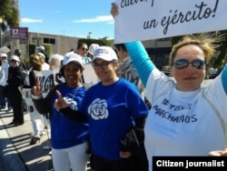 Apoyo en el exilio a #TodosMarchamos. Reporta Cuba.