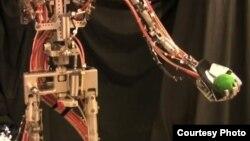 Robot de Disney que lanza pelotas