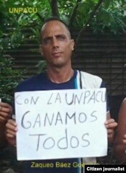 Reporta Cuba Zaqueo Báez