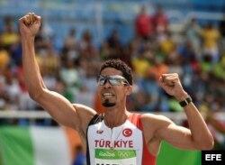 Yamani Copello tras ganar la medalla de bronce en Río.
