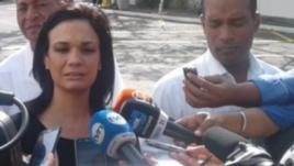 Isabel Saint Melo, canciller y vicepresidenta de Panamá