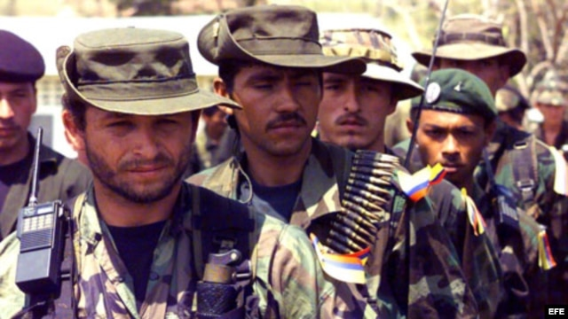 Guerrilleros de las FARC.