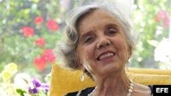 Fotografía de archivo (Ciudad de México, 28/02/2011), de la escritora mexicana Elena Poniatowska que ha ganado el Premio Cervantes 2013.