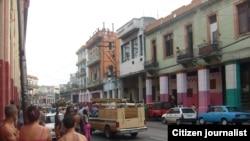 Imágenes de un rescate en La Habana.