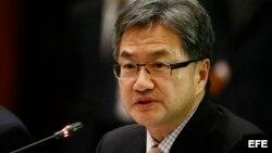 El enviado especial de EE.UU para la política de Corea del Norte Joseph Yun. (Archivo)