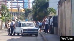 reporta cuba / Stgo de Cuba / represión /foto /Ernesto Vera