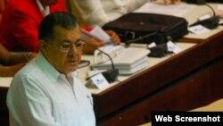 Adel Yzquierdo Rodríguez, el nuevo ministro cubano de Transporte.