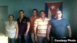 Miembros de la Junta Directiva Nacional de la USC. Foto: Ernesto García, cortesía de CUBANET.