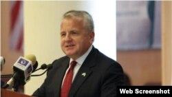 Secretario de Estado interino de EEUU, John Sullivan. (Archivo)