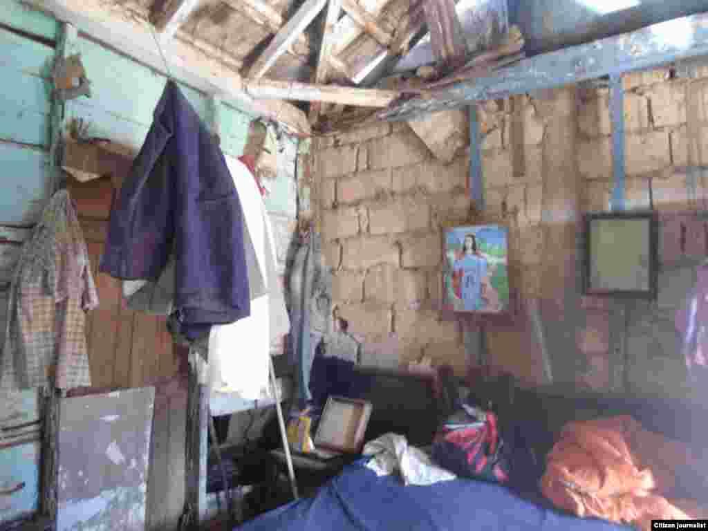 Así vive en Cuba un veterano de la guerra de Angola, Jorge A. Barroso Gómez.