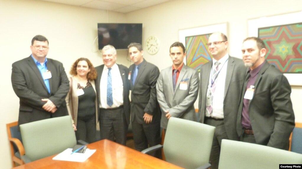 Los miembros del Instituto Patmos fueron recibidos en la Oficina Internacional de Asuntos Religiosos del Departamento de Estado de EEUU.
