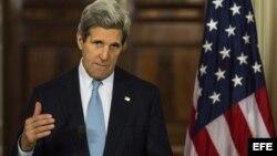 Desde que asumió como secretario de Estado, John Kerry se ha esforzado al máximo por revivir el diálogo de paz.