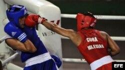 El campeón Olimpico en Londres 2012 Roniel Iglesias es uno de los que encabeza la escuadra cubana.