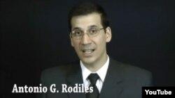 Antonio Rodiles coordinador del Proyecto Estado de Sats