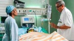 """Todavia permanece en cuidados intensivos, """"muy grave"""", Mailén Díaz, única sobeviviente del accidente aéreo del 18 de mayo en Cuba."""