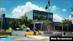Los cubanos fueron trasladados desde el Aeropuerto Internacional de Chetumal, en Quintana Roo.