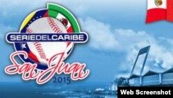 Logo Serie del Caribe 2015 Puerto Rico