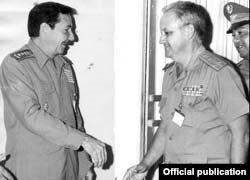 Gen. de Brigada Luis Pérez Róspide, un hombre de confianza de Raúl Castro.