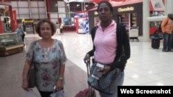 Dora Mesa y Jacqueline Madrazo, activistas cubanas pro derechos humanos