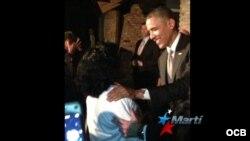 Soler y Fariñas se reúnen con el presidente Obama