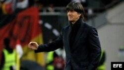 El entrenador en jefe de Alemania, Joachim Loew
