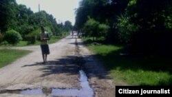 Reporta Cuba, Camino a Las Novillas Manzanillo. Foto: Rudisel Batista.