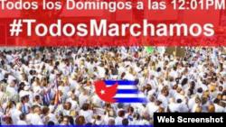 Reporta Cuba #TodosMarchamos