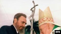 Visitas papales a Cuba.