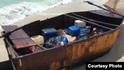 Los arribos más recientes de cubanos a la Florida no son en balsa, sino en botes rústicos.