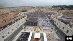 Ceremonia de Canonización de Juan Pablo II y Juan XXIII