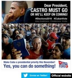 """Campaña """"Cuba Importa"""" busca llegar a candidatos presidenciales en EEUU"""