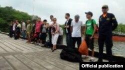 Guardacostas colombianos encontraron migrantes ilegales en el Golfo de Urabá. Archivo.