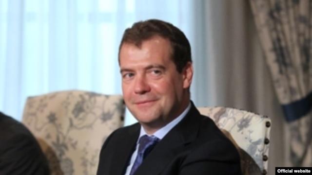 Fotografía de archivo del primer ministro ruso, Dmitri Medvédev.