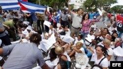 Damas de Blanco convocan a cubanos a celebrar el Día Mundial de los DDHH