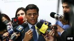 Pedro Corzo entrevista a Leopoldo López