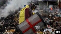 """Oposición venezolana denuncia """"represión"""" a protesta contra Constituyente."""