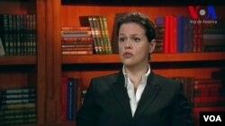 Marselha Goncalvez, directora para las Américas de Amnistía Internacional de EEUU. (VOA)