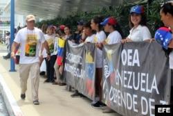LA OEA BUSCARÁ SOLUCIONES A LA CRISIS DE VENEZUELA EN SU ASAMBLEA DE CANCÚN