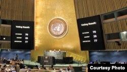 Votación en la ONU por Crimea