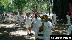 Damas de Blanco por La Habana - foto de Angel Moya