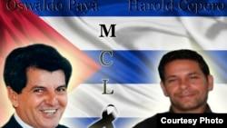 Oswaldo Payá y Harold Cepero