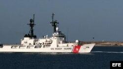 Embarcación de la Guardia Costera. EFE