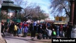 Miles de cubanos ingresaron a Estados Unidos por Nuevo Laredo en los últimos años. Foto tomada de Facebook)