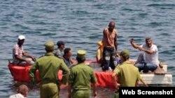 Pescadores furtivos capturados Cuba