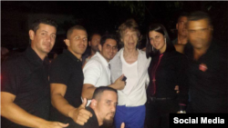 Mick Jagger en La Habana.