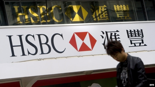 Banco HSBC en Hong Kong