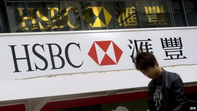 Banco HSBC en Hong Kong